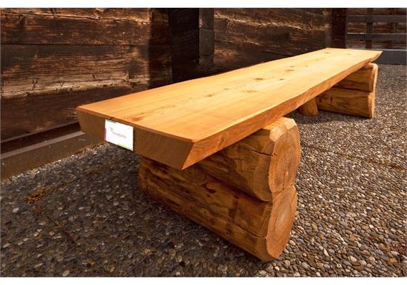 Sitzbank Pische, ohne Lehne - Länge 200 cm
